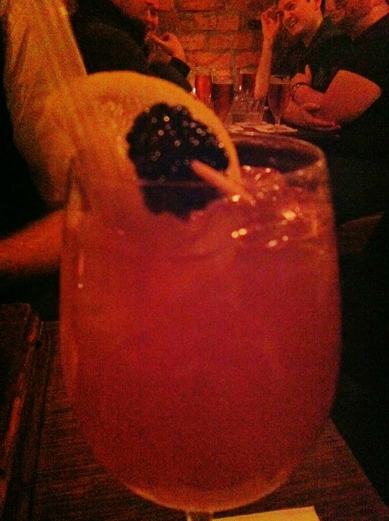 Singapore Sling at Berry and Rye