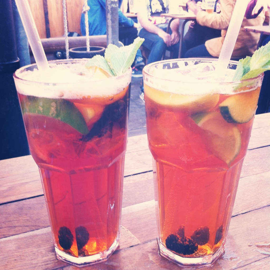 Pimms Cup at Kazimier Gardens