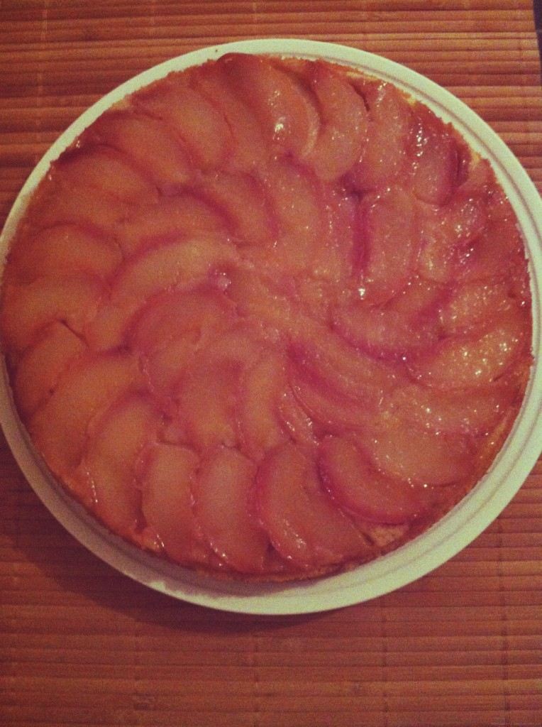 Peach Recipes - Peach Upside-Down Cake