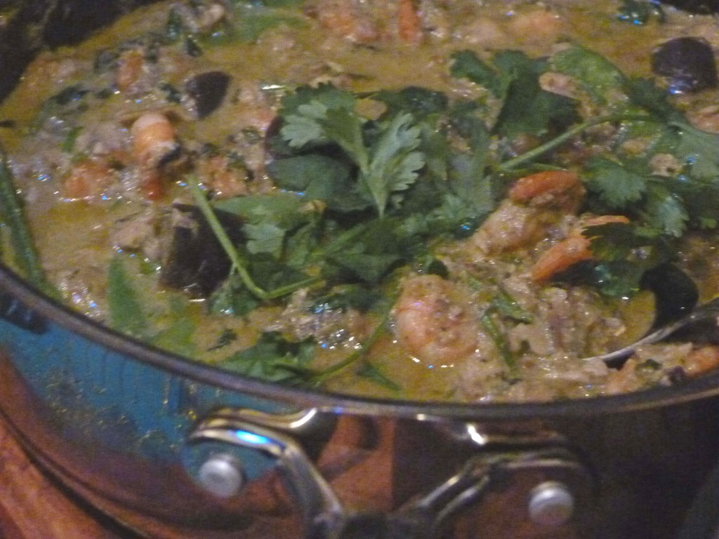 seafood - fish curry