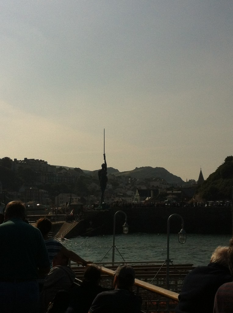 PS Waverley - Damien Hirst Verity at Ilfracombe