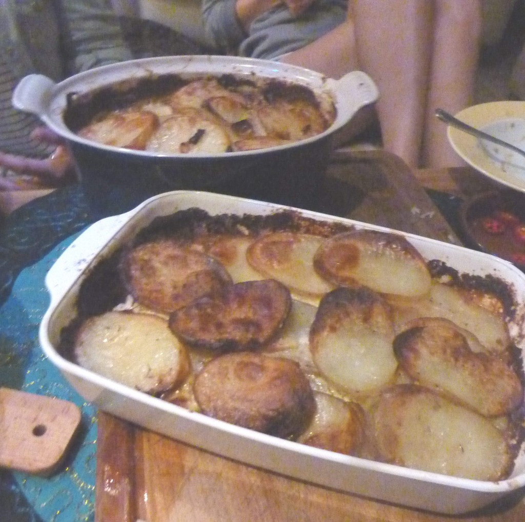 pommes dauphinoise